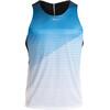 saucony Endorphin Koszulka do biegania bez rękawów Mężczyźni niebieski/biały